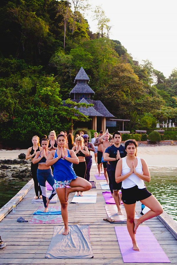 Radiant Hot Yoga retreat in Koh Yao Yai, Thailand > Luxury Yoga Retreats